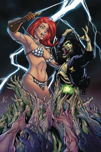 Image: Red Sonja: Age of Chaos #2 (variant cover - Garza virgin) - Dynamite