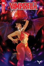 Image: Vampirella #8 (cover D - Richardson Surprise) - Dynamite
