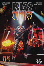 Image: Kiss: Zombies #4 (cover D - Photo) - Dynamite