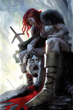 Image: Red Sonja Vol. 05 #13 (incentive 1:40 cover - Bob Q virgin) - Dynamite