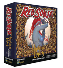 Image: Red Sonja: Hyrkania's Legacy Board Game Expansion  - Dynamite