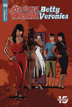 Image: Red Sonja and Vampirella Meet Betty and Veronica #9 (cover E - Staggs) - Dynamite