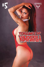 Image: Vengeance of Vampirella Vol. 02 #5 (cover D - Cosplay) - Dynamite
