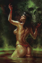 Image: Vengeance of Vampirella #5 (variant cover - Parrillo seduction) - Dynamite