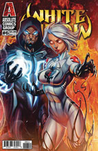 Image: White Widow #6 (cover A foil logo - Garza) - Absolute Comics Group