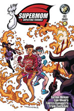 Image: Supermom Expecting Trouble #3 - Action Lab Entertainment
