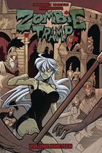Image: Zombie Tramp Vol. 19: Dead Girl in Europe SC  - Action Lab - Danger Zone