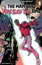 Image: Man Who F#&ed Up Time #1 (incentive 1:15 cover - Stroman) - Aftershock Comics