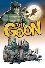 Image: Goon #9 (cover A - Powell) - Albatross Funnybooks