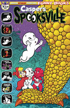 Image: Casper's Spooksville #4 (main cover - Shanower) - American Mythology Productions