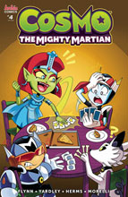 Image: Cosmo Mighty Martian #4 (cover C - Hernandez) - Archie Comic Publications
