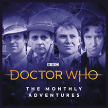 Image: Doctor Who Audio CD: Adventures Dark Universe  - Big Finish