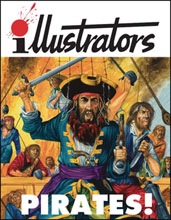 Image: Illustrators Special #7 (Pirates) - Book Palace
