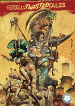 Image: Kevin Eastman: Totally Twisted Tales Vol. 01 SC  (cover B - Bisley) - Clover Press, LLC