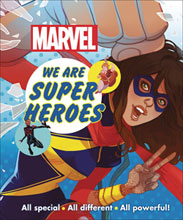 Image: Marvel We Are Super Heroes HC  - DK Publishing Co