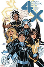 Image: X-Men / Fantastic Four #1 (DFE signed - Dodson) - Dynamic Forces