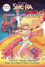 Image: She-Ra Vol. 01: Legend of Fire Princess GN  - Graphix