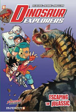 Image: Dinosaur Explorers Vol. 06: Escaping the Jurassic HC  - Papercutz