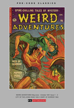 Image: Pre Code Classics: Weird Adventures Vol. 01 HC  - PS Artbooks
