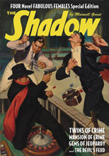 Image: Shadow #150: Twins of Crime, The Devil's Feud and Other Thrillers SC  - Sanctum Productions