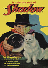 Image: Shadow #151: Alibi Trail, The Whispering Eyes and Other Thrillers SC  - Sanctum Productions