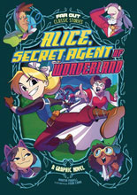 Image: Alice, Secret Agent of Wonderland GN  (Young Readers) - Stone Arch Books