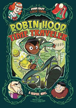Image: Robin Hood Time Traveler GN  (Young Readers) - Stone Arch Books