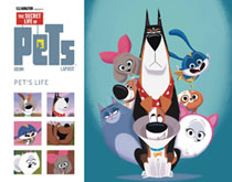 Image: Secret Life of Pets 2: Pets Life Gift Book SC  - Titan Comics
