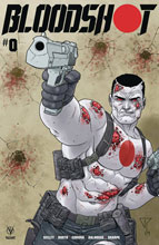 Image: Bloodshot [2019] #0 (cover C - Portela) - Valiant Entertainment LLC