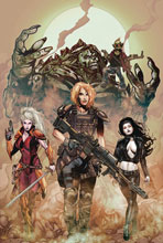 Image: Monster Planet #5 (cover A - Johnson) - Zenescope Entertainment Inc