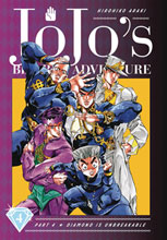 Image: Jojo's Bizarre Adventures Part 04: Diamond Is Unbreakable HC  - Viz Media LLC