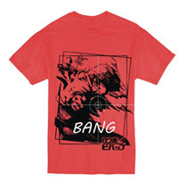 Image: Cowboy Bebop T-Shirt: Spike [Red]  (M) - Great Eastern Entertainment