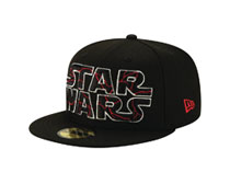 Image: Star Wars E9 Cap: Cracked  (5950 Fitted) (7 1/8) - New Era Cap Co