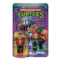 Image: Teenage Mutant Ninja Turtles Reaction Figure: Bebop  - Super 7