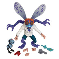 Image: Teenage Mutant Ninja Turtles Ultimates Wave 1 Action Figure: Baxter Stockman  - Super 7
