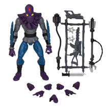 Image: Teenage Mutant Ninja Turtles Ultimates Wave 1 Action Figure: Foot Soldier  - Super 7