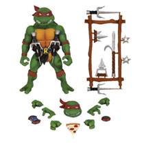 Image: Teenage Mutant Ninja Turtles Ultimates Wave 1 Action Figure: Raphael  - Super 7