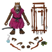 Image: Teenage Mutant Ninja Turtles Ultimates Wave 1 Action Figure: Splinter  - Super 7