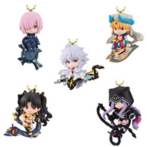 Image: Fate Grand Order Absolute Twinkle Dolly Vol. 1: 8-Piece Display  - Bandai Shokugan