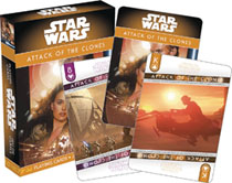 Image: Star Wars Playing Cards: Episode 2 - Attack of the Clones  - Nmr Distribution America