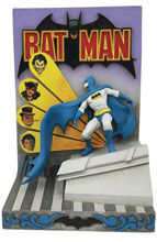 Image: Jim Shore DC Comics Figure: Batman Comic Book Cover  (8 Inches) - Enesco Corporation