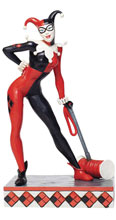 Image: Jim Shore DC Comics Figure: Harley Quinn  (7.5 Inches) - Enesco Corporation