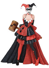 Image: DC Comics Couture De Force Figurine: Harley Quinn  (7. 7 Inches) - Enesco Corporation