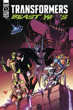Image: Transformers: Beast Wars #1 (cover A - Josh Burcham) - IDW Publishing