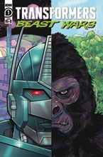 Image: Transformers: Beast Wars #1 (incentive 1:25 cover - Nick Brokenshire) - IDW Publishing