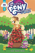 Image: My Little Pony: Friendship Is Magic #95 (incentive 1:10 cover - Erin Hunting) - IDW Publishing