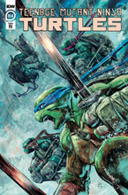 Image: Teenage Mutant Ninja Turtles #114 (incentive 1:10 cover - Jesus Hervas) - IDW Publishing