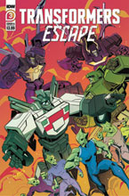 Image: Transformers Escape #3 (cover A - McGuire-Smith) - IDW Publishing