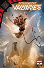 Image: King in Black: Return of Valkyries #3 (variant Valkyrie Profile cover - Noto) - Marvel Comics