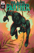 Image: Black Panther #23 (variant Black History Month: Black Panther cover - Souza) - Marvel Comics